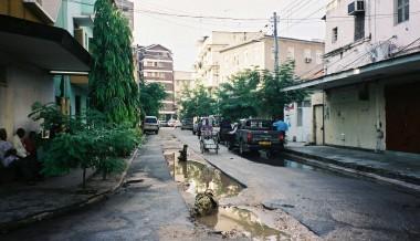 Street in front of DTV - Dar es Salaam